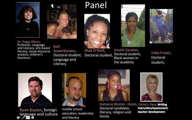 Peggy Albers, Kelli Sowerbrower, Shae O'Neill, Janelle Gardner, India Fraser, Ryan Boylan, Dru Tomlin, Kamania Wynter-Hoyte, Christi Pace